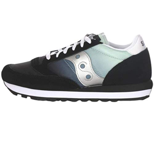 Saucony Originals Jazz Original - Sneakers da Donna, (Nero Placcato Argento.), 44 EU