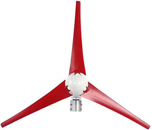 LIBINA Kit de generador de turbina eólica de 400W, Molino deViento eléctrico, Molino deViento, Hoja de Fibra de Nailon, generador de Hoja, Kit de generador de Molino deViento, 12/24V, 24V