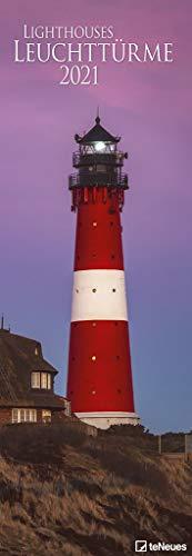 Leuchttürme 2021 - Foto-Kalender - King-Size - 34x98 - Lighthouses: Lighthouses