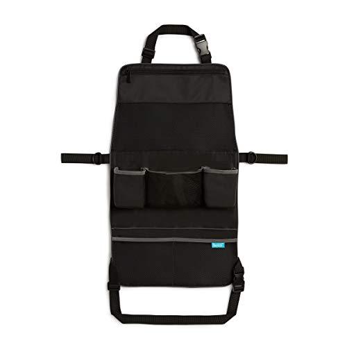 Brica by Munchkin Protector de asiento de coche y organizador de sillita de paseo 2 en 1,  impermeable
