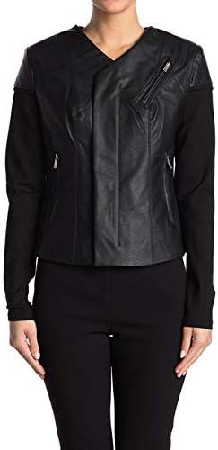 Baba Geniuse International Nicki Faux Leather Jacket-Women Faux Leather Jacket