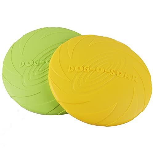 Aoligei Frisbee Perro Grande, Frisbee Perro, Perros interactivos Frisbee, Disco para Perros,...