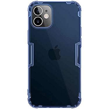 """Nillkin Case for Apple iPhone 12 Mini (5.4"""" Inch) Nature Series Back Soft Flexible TPU Blue Color"""