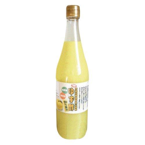 【徳島産 ゆず酢 720ml】 ゆず果汁100%★無農薬・無添加