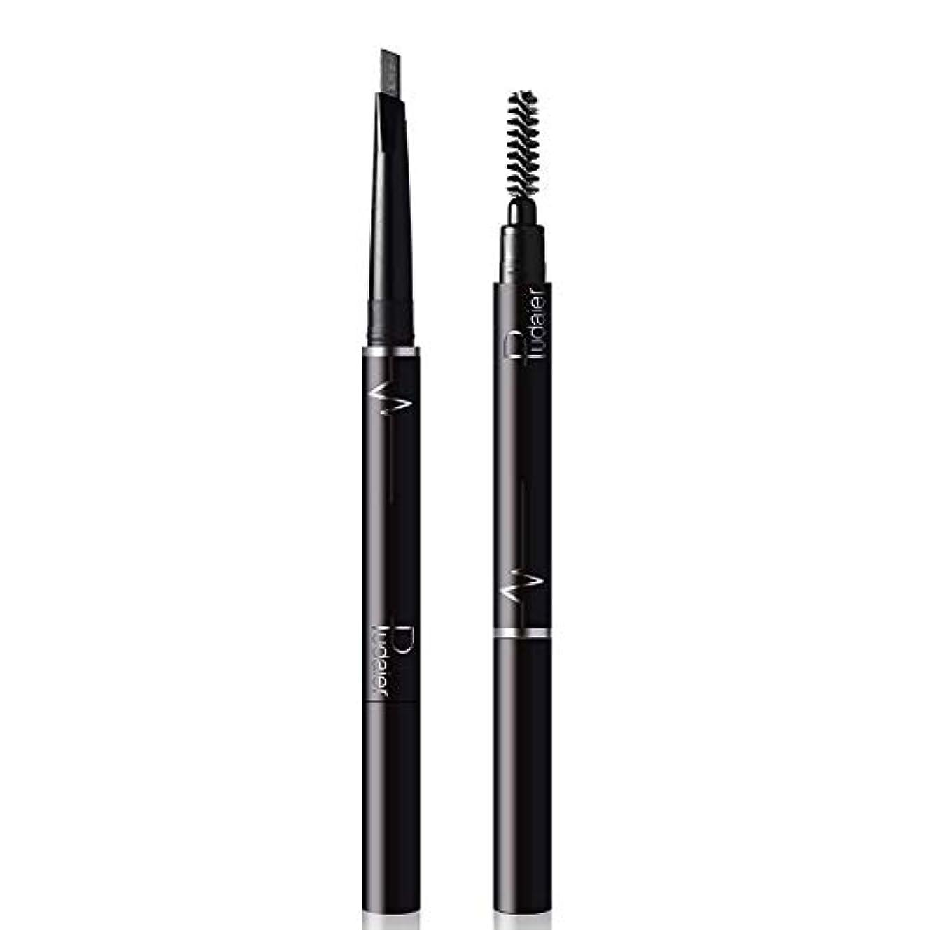 呼吸グリーンバック電報Symboat アイブロウペンシル アイラインペン メイクアップペン 防水 防汗 長持ち メイクアップツール