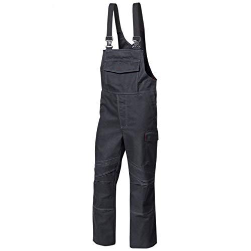 BP Wetterfeste Hose, Einzippbarer Rückenteil mit extra breiten, abnehmbaren Trägern, 350,00 g/m², Warngelb,Mn
