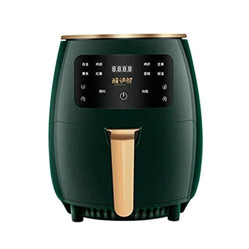 Freidora de aire digital de 4.5 cuartos con controles digitales de un toque preajustes fáciles Control de temperatura preciso Pantalla táctil Freidora de aire Cesta antiadherente apta para lavavajil