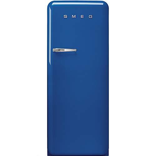 Smeg FAB28RBE3 - Nevera combi (Independiente, Azul, Derecho, 110°, Vidrio, 270 L)