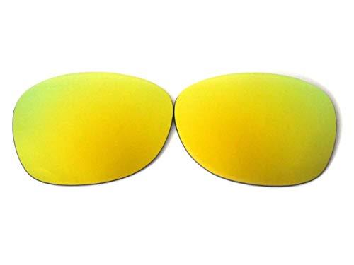 GALAXYLENSE Lentes de reemplazo para gafas de sol de Ray-Ban RB2132 Wayfarer para hombre o mujer 55x1.5x38 Regular Oro