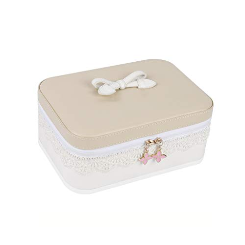 GZ-Boîte cosmétique boîte de Rangement cosmétique boîte à Bijoux boîte à Bijoux boîte de Rouge à lèvres Sac cosmétique Portable Simple Cadeau