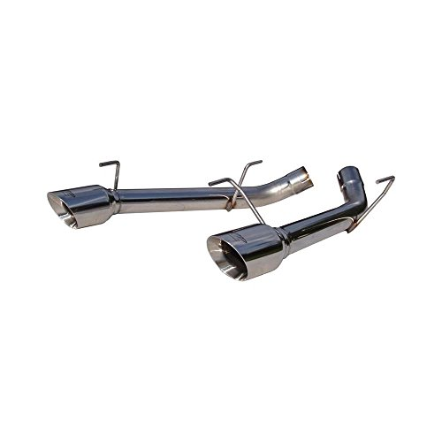 MBRP Pro Series Muffler-Delete Axle-Back Exhaust S7202304, Compatible with Ford Mustang GT 4.6L 2005 - 2010
