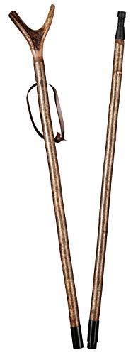 Stock Profimann Fourche de visée en 2 parties Charge maximale 100 kg Marron bois