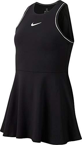 Nike G Nkct Dry Dress Kleid für Mädchen XL Schwarz/Weiß/Weiß