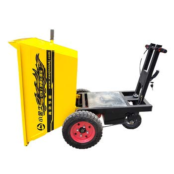 cheap mini dumper battery are used on construction sites and farms (yellow)