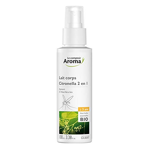 Le Comptoir Aroma 2en1 Lait Corps Flacon Spray 100 ml
