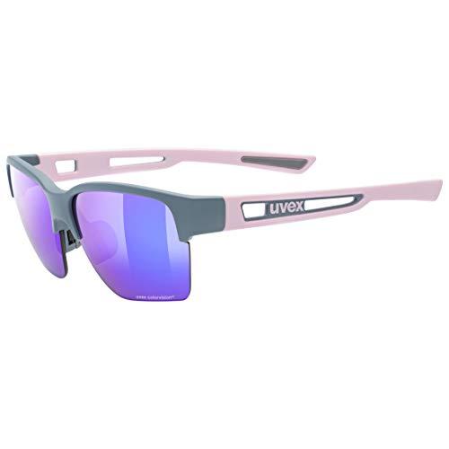 uvex Sportstyle 805 CV Gafas de Deporte, Unisex-Adult, Grey/Plasma Daily, One Size