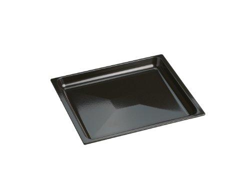 Miele HUBB 60 schwarz Universalblech für Herde/Backöfen/PerfectClean veredelt/Besonders leichte Reinigung