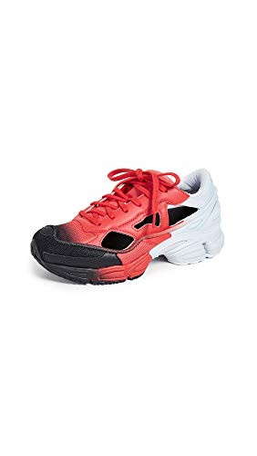 adidas Women's x RAF Simons Replicant Ozweego Sneakers, Red/Halo Blue/Core Black, 6 Medium US