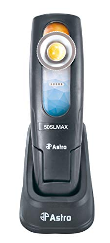 Astro Pneumatic Tool 50SLMAX Sunlight 500 Lumen Rechargeable Handheld Dual Temperature Color Match LightMulticolor