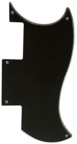 Electric Guitar Pickguard for Epiphone SG Special Style (3 Ply Black)
