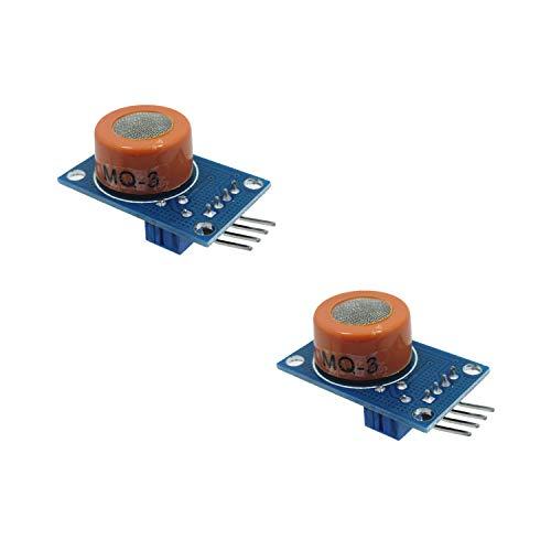 2 Pack MQ-3 Special Alcohol Ethanol Gas Sensor Module