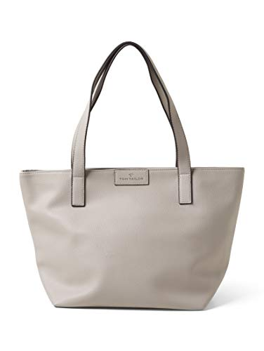 TOM TAILOR Damen Taschen & Geldbörsen Shopper Miri grey,OneSize