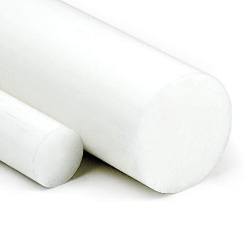 POM Rundstab natur Ø 10mm | L: 1500mm (150cm) - Kunststoffstab auf Zuschnitt