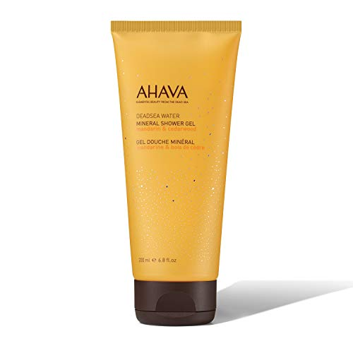 AHAVA Mineral Shower Gel Mandarin Cedarwood, 200 ml
