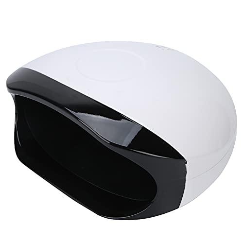 UV Geleide Spijkerlamp, Gelnagellamp, 4 Timers Gel Polish Droger 180° Geen Dode Hoek Snel Drogen Nageldroger 56W Professionele Nail Art Tools voor Acryllijm/nagelverlenging/LED/UV Gel(EU)