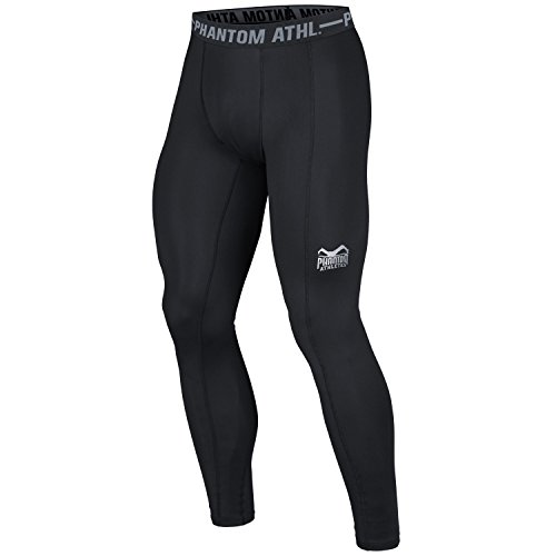 Phantom Athletics Herren Vector Trainingshose, Schwarz, L