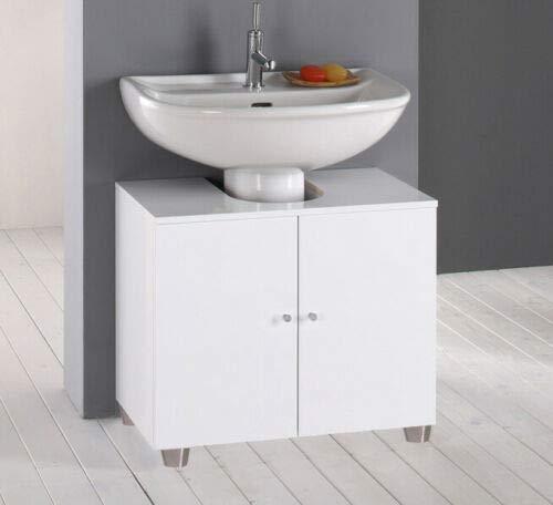 IdeaStella Mobile Bagno sotto lavabo Copri Colonna lavandino Standard L60xP45 Made in Italy