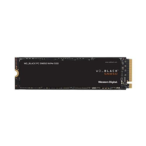 Western Digital WD Black 内蔵SSD M.2-2280 NVMe PCI-E Gen4 SN850 ゲームPC 1TB 5年保証 WDS100T1X0E-EC【国内正規代理店品】