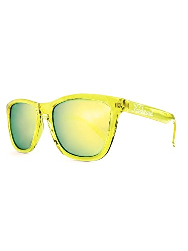 Knockaround® Promi Unisex Designer Sonnenbrille MONOCHROME