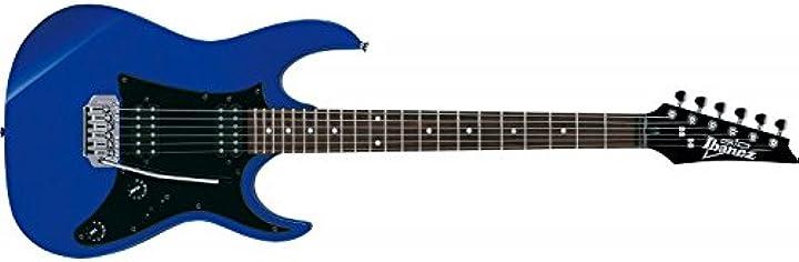 Chitarra elettriche ibanez grx20-jb jewel blue, metallo – moderno GRX20ZJB