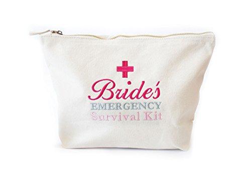 Sac de kit de survie d'urgence pour mariée, mariage, Sac de jour, prêt à être rempli avec Mariage Jour Essentials