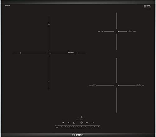 Bosch PIJ675FC1E - Placa Inducción, Serie 6, 60cm, Zona 28cm premium