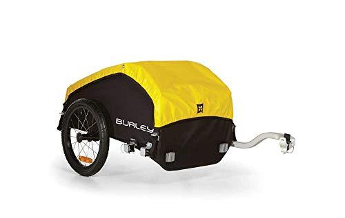 Burley Nomad Fahrradlastenanhänger, schwarz/Gelb, One Size