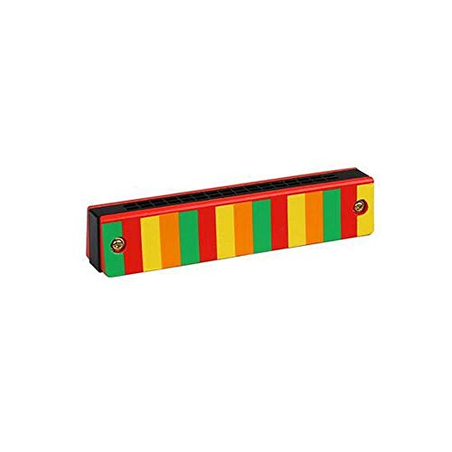 KMDSM 16-Loch-Mundharmonika, Kinderanfänger Tone Piano Instrument, Junge Geeignet for 2-9 Jahre alt Multi-Muster, EIN wunderbares Geschenk Spielzeug ( Color : B )