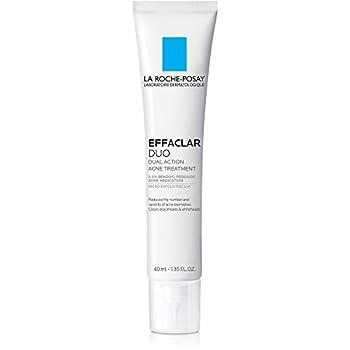 La Roche-Posay Effaclar Duo Dual Action Acne Treatment Cream with Benzoyl Peroxide 1.35 Fl Oz