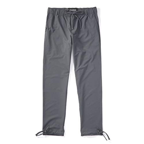 Trailhead Adventure Pant - Durable, Lightweight, Waterproof, Packable for Outdoors, Travel, Climbing, Hiking (Small, Black)