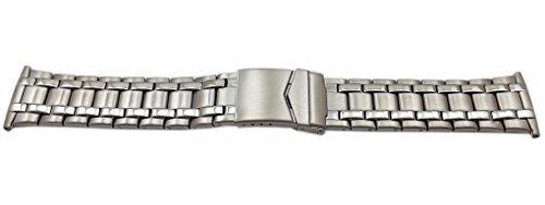 myledershop 5022 Armbanduhr, Silber, 26 Millimeter