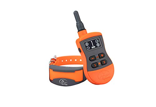 SportDOG Brand SportTrainer Remote Trainers - Bright, Easy to Read OLED Screen - Waterproof, Rechargeable Dog Training Collar with Tone, Vibration, and Static, 500 Yard Range - 2 Dog Expandable