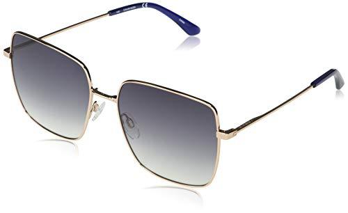Calvin Klein EYEWEAR CK20135S-780 Gafas, Shiny Rose Gold/Blue Gradient, 58-17-145 para Mujer