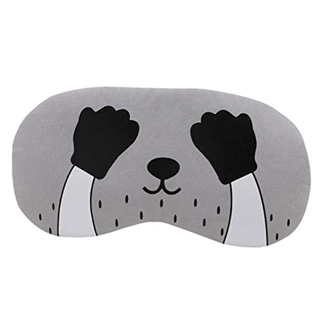 遊びますセージ異常なNOTE Cutesleepingアイマスク漫画猫ソフトトラベルアイシェードカバー残りリラックス睡眠目隠しドロップシッピング2U0817