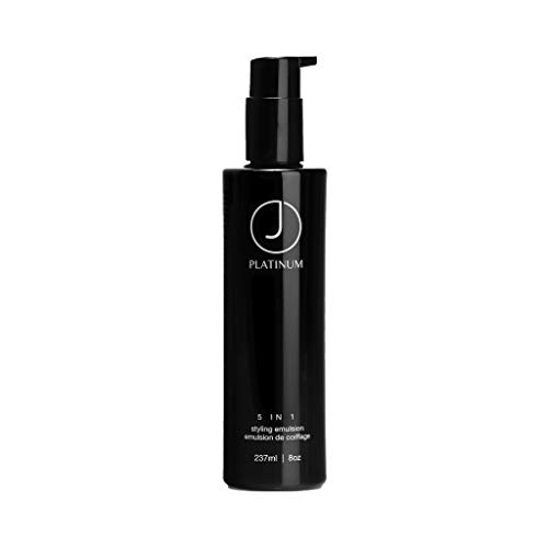 J Beverly Hills Platinum 5 in 1, Styling Emulsion, Leave-in styling cream, 8 oz Mississippi