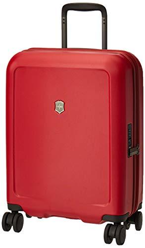 Victorinox Connex Global Hardside Carry-On - Valigia Trolley Bagaglio a Mano Espandibile - Rigido Leggero 4 doppie Ruote - 20x40x55cm - 34l - 3,1Kg - Rosso