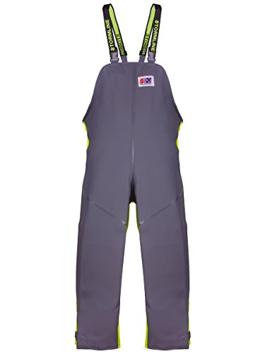 Stormline Milford 649 Bib and Brace (Xtra-Large) Grey, Neon