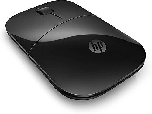 HP Z3700 (V0L79AA) kabellose Maus (1200 optische Sensoren, bis zu 16 Monate Batterielaufzeit, USB Anschluss, PlugundPlay) schwarz