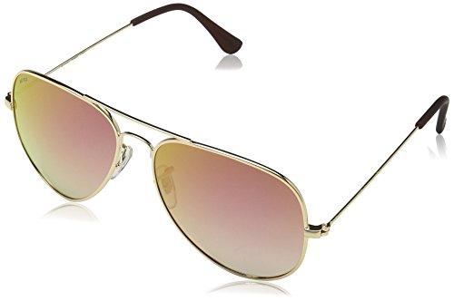 MSTRDS Unisex Sonnenbrille PureAv, Gr. One size, Gold (gold/rosé 5160)