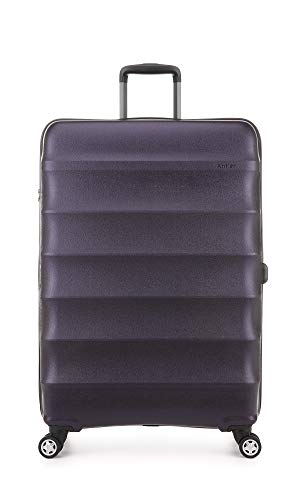 Antler Portobello Large Suitcase | Extra Large Luggage | Large Suitcase Lightweight | Extra Large Luggage | Suitcases with Wheels | Suitcase XL | Travel Case | Hard Shell Suitcase | Flight Case